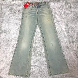 NWT✨MISS SIXTY Low Tommy Bootcut Jeans 27
